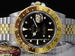 Rolex gmt acciaio oro occhi di tigre