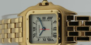CARTIER PANTHERE ORO GALLO
