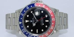 ROLEX GMT MASTER I PEPSI 16700